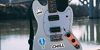 Stickers On Guitar
