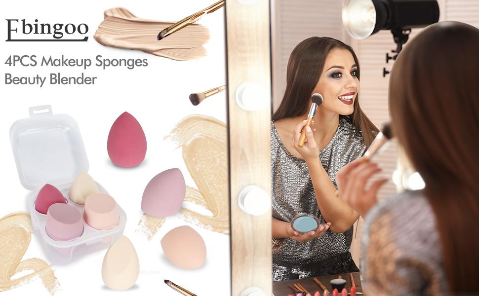 Ebingoo 4PCS Makeup Sponges Beauty Blender