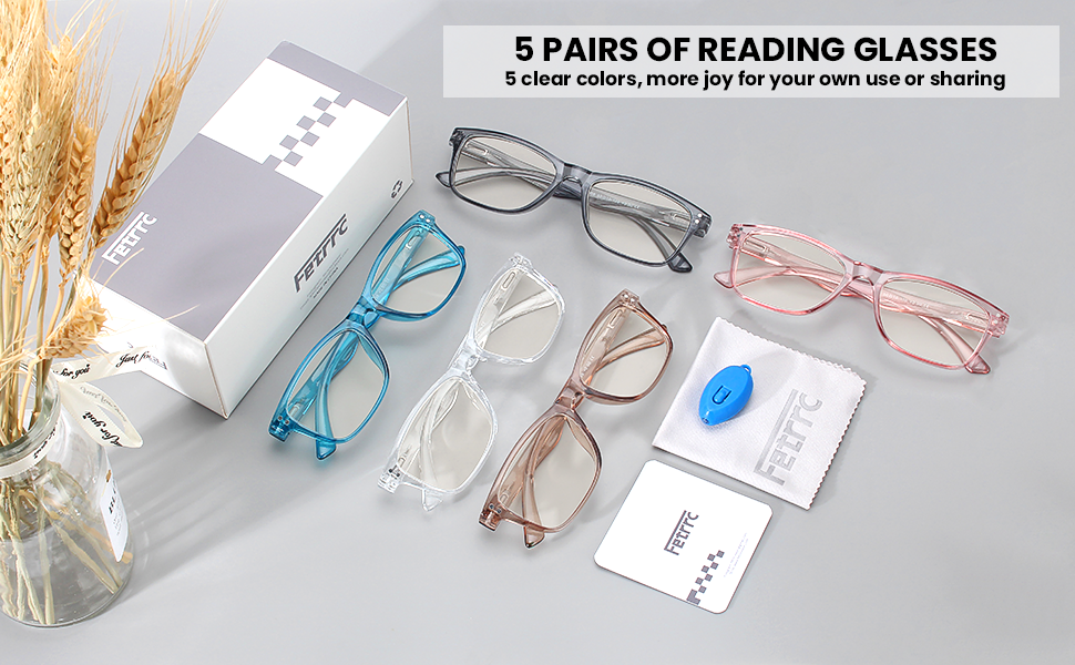 You no longer need to worry about finding the reading glasses.