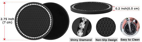 diamond car accessories