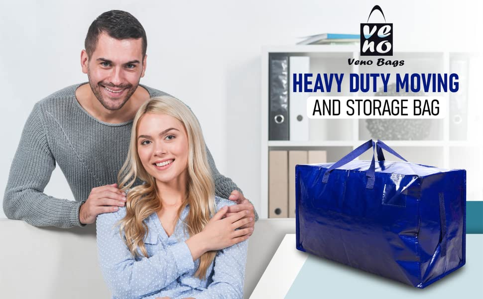 VENO moving bags, storage bags, totes for storage, alternative to moving boxes, moving supplies