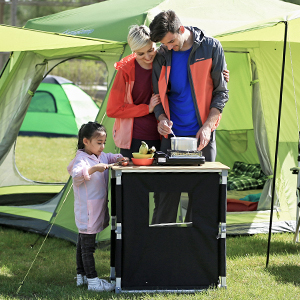 Instant Bamboo Cooking Table for family