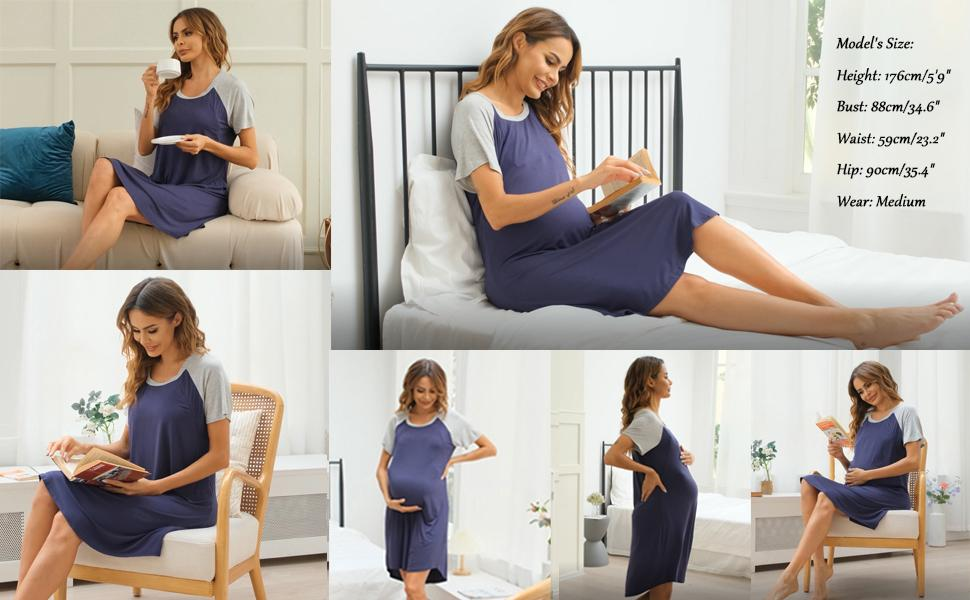 birthing labor and delivery gown