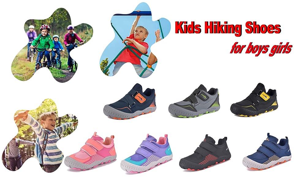 kids hiking shoes boys girls