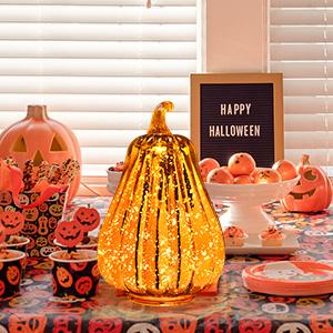 lighted pumpkins for indoors