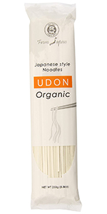 Japanese style noodles udon organic muso from Japan