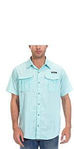 fishing shirts for men short sleeve
