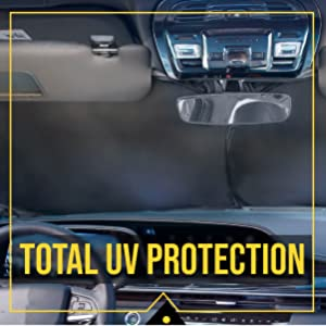 uv protection for sunshade windshield car