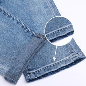 Men's Bike Jeans and Skinny Slim Fit Stretch Straight Leg Fashion Jeans