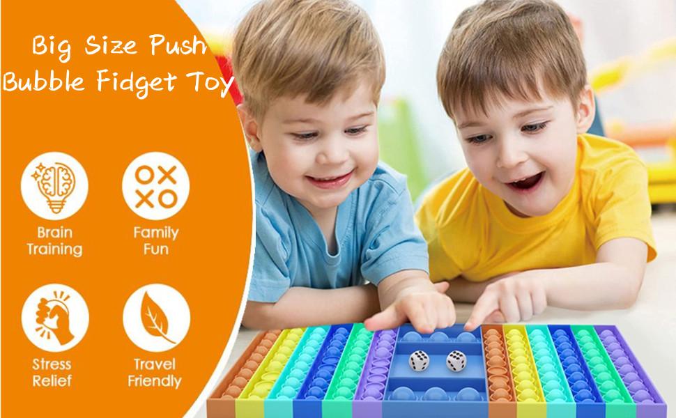 Big Size Push Bubble Fidget Toy