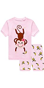 Pijamas de niña  mono