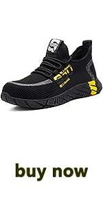 Men Women Lightweight Work Safety Shoes