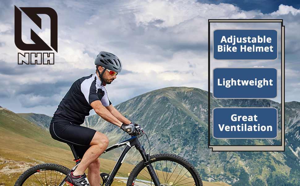 adjustable, lightweight, graet ventilation bike helmt