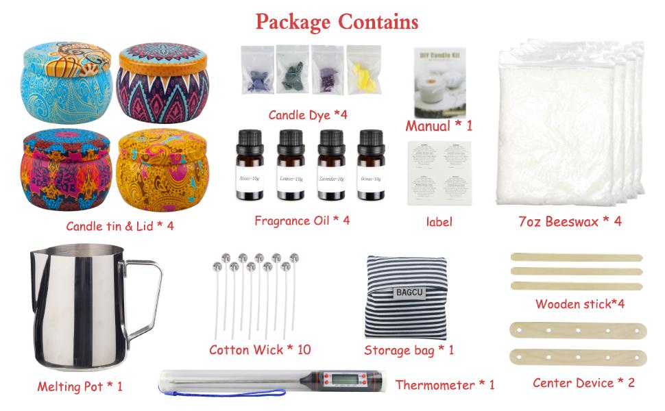 Candle Making Kit, DIY Candle Making Supplies