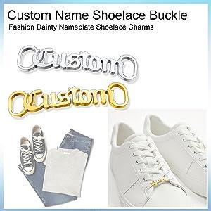 Custom Initial Shoelace Buckle