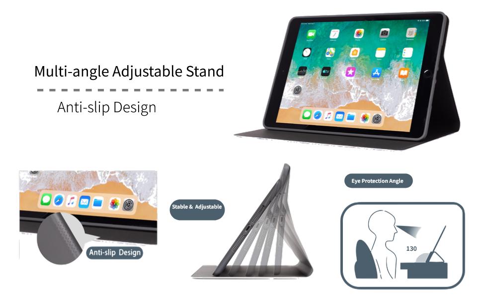 Smart Nonslip iPad 8th Generation Case