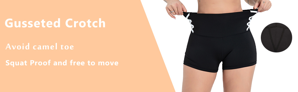 These athletic shorts can avoid camel toes