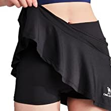 running skirt women