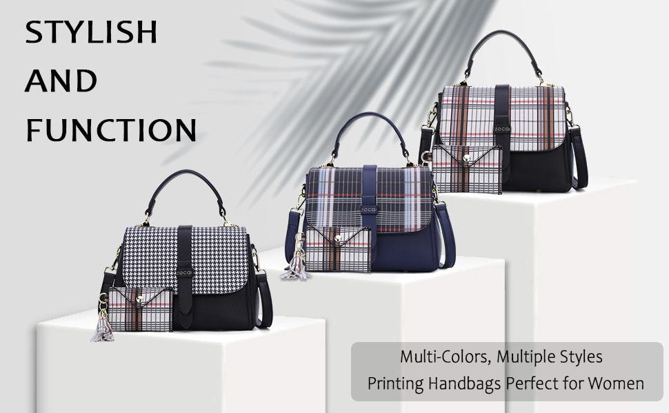 Women Shoulder Purses Totes Top Handle Work Bags