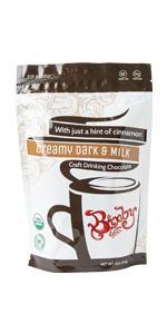 hot chocolate dark chocolate organic vegan camping cabin ski trips coffee warm happy