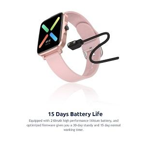 15  Days Battery Life