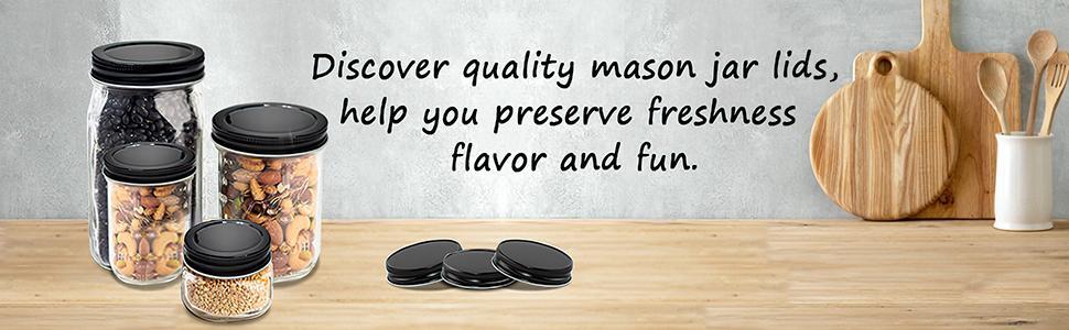 small mason jar lids