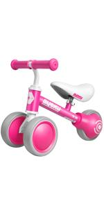 Baby Balance Bike Pink