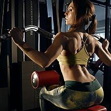 Fitness Latzugstange mit Drehgelenk für Bizeps Trizeps