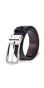 Reversible Leather Belts for Women