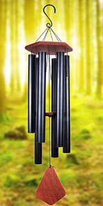 Wind Chimes Outdoor Large Deep Tone, Musical Tuned Wind Chimes, Metal Outdoor Decorative Wind Chimes
