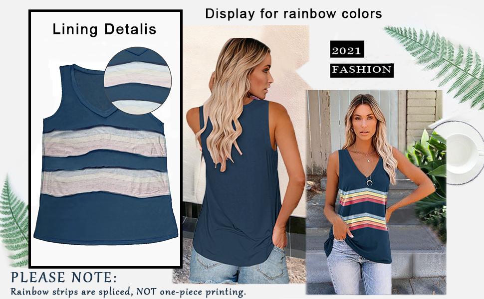 tank tops for women fashion trendy