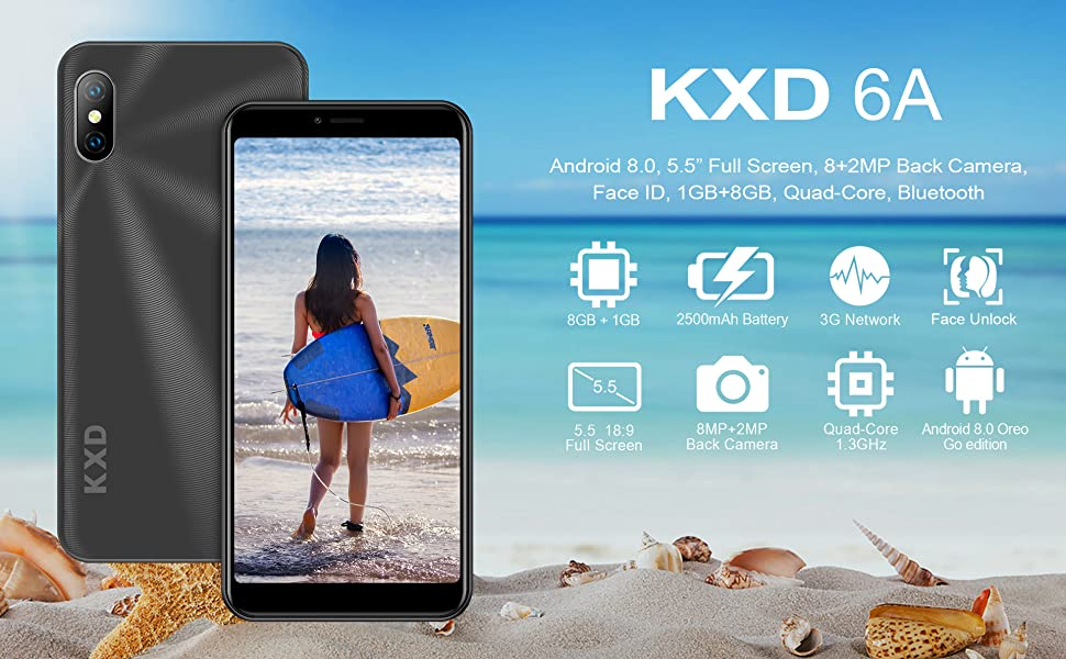 KXD 6A Unlocked Smartphone