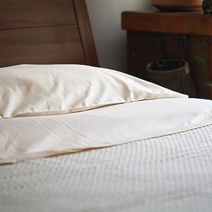Organic Cotton Flat Sheet - Cotton Flat Sheet Queen - Organic Flat Sheets - Cotton Flat Bed Sheets
