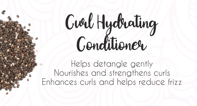 Curl Up Curl Hydrating Conditioner, Reduce Frizz, enhance curls, CG friendly