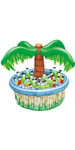 """28"""" Inflatable Palm Tree Cooler"""