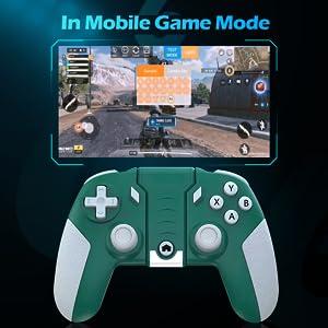 gamepad play mobile game