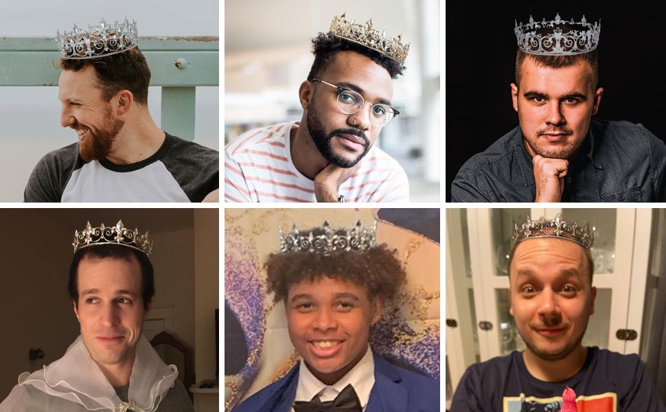 gold crown for men