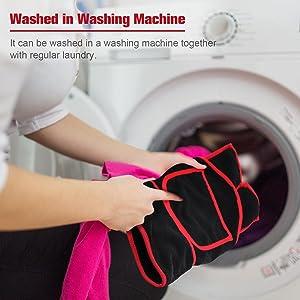 Washed in a washing machine