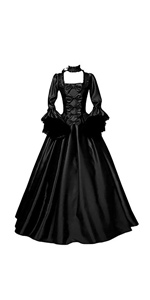 Gothic Long Dresses for Women Party Dress