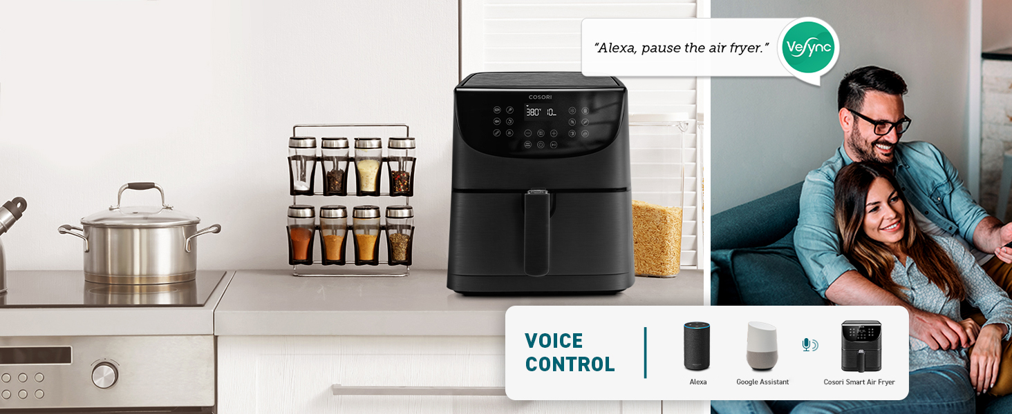 voice control hands-free control condiment flavoring comfortable life lazy lifestyle stewpan
