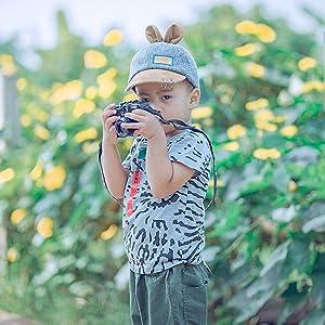 baby girl boy taking photo shoes