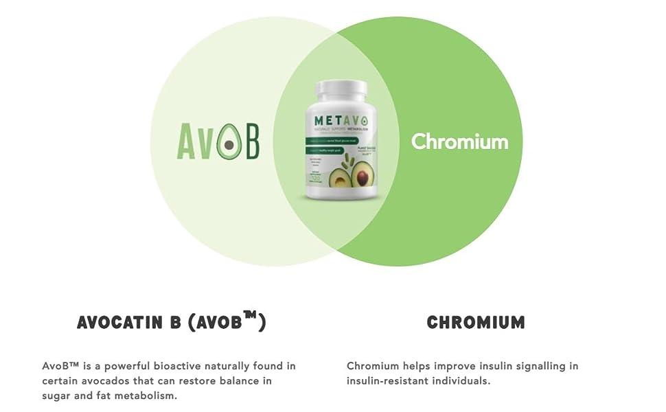 metavo avob and chromium
