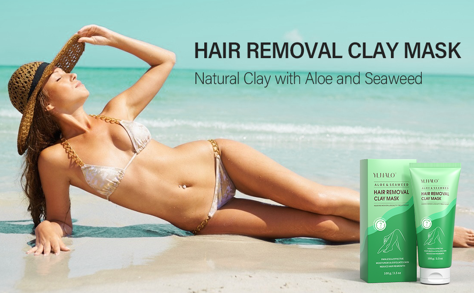 Hair Removal Clay Mask