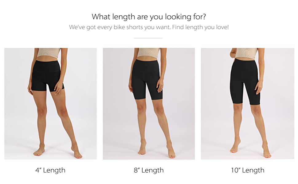 ODODOS Shorts Length Option