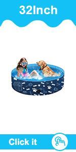 plastic pet dog bath swimming pool for kids