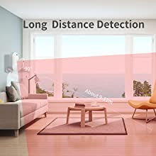 Long Distance Detection