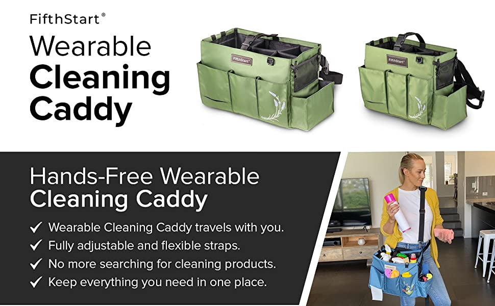 large cleaning caddy, cleaning organizer, cleaning tote, cleaning supplies caddy, cleaning bag