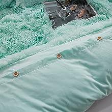 fluffy comforter set