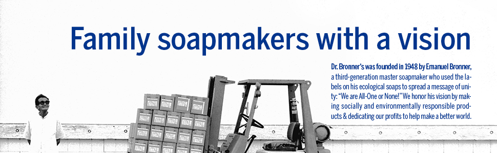 Family Soapmakers with a vision