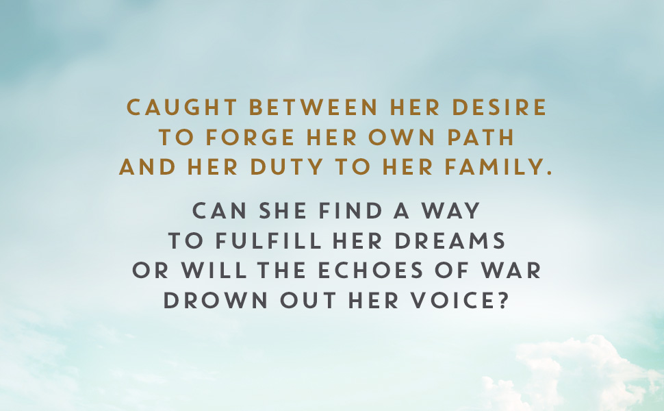 Caught between her desire to forge her own path and her duty to her family.